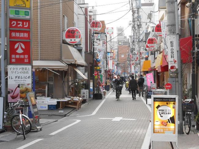 江戸川橋商店街