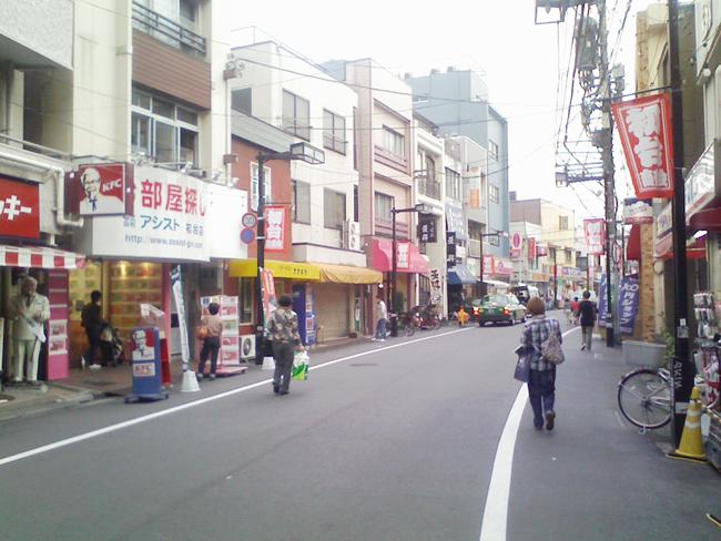 初台商店街