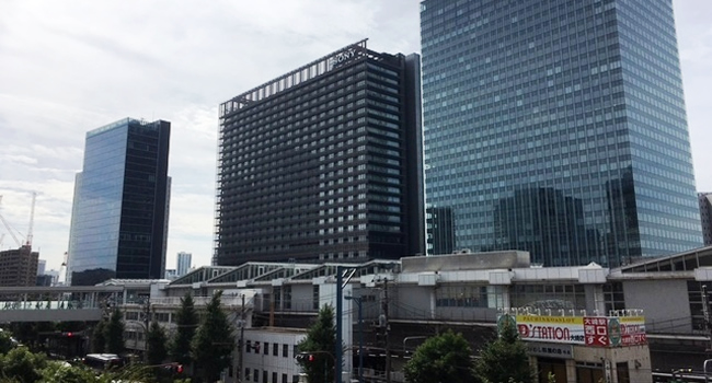 JR大崎駅の東口側