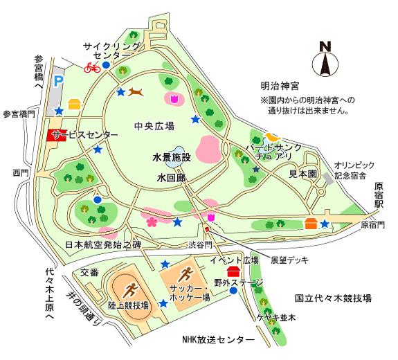 代々木マップ