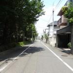 上野毛の街並み