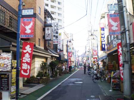 武蔵駅前通り商店街