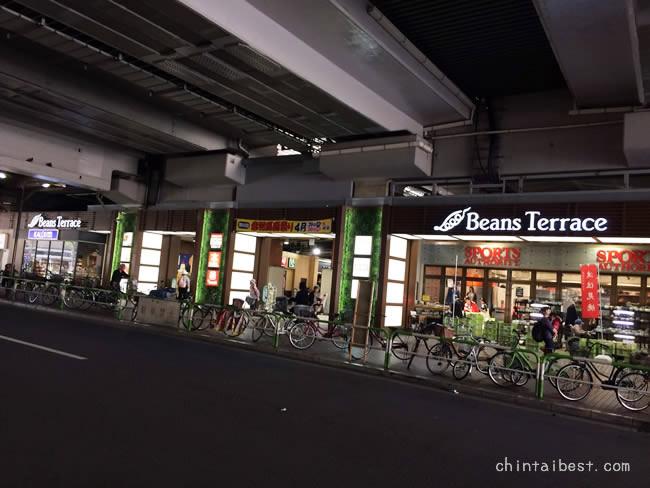赤羽駅の高架下