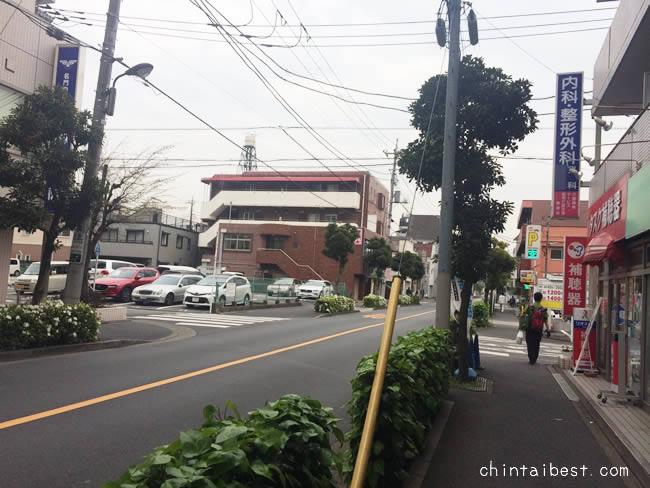 綾瀬の街並み
