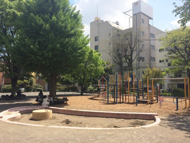 駒込の公園