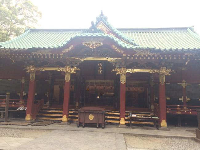根津の神社