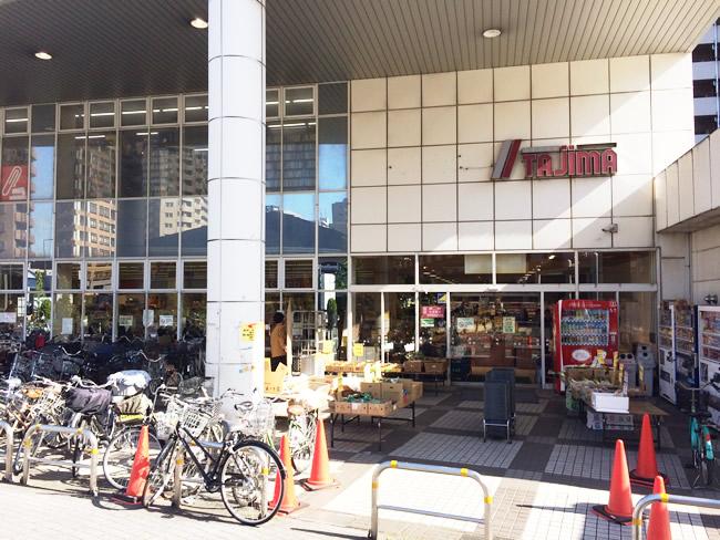 王子神谷のスーパー