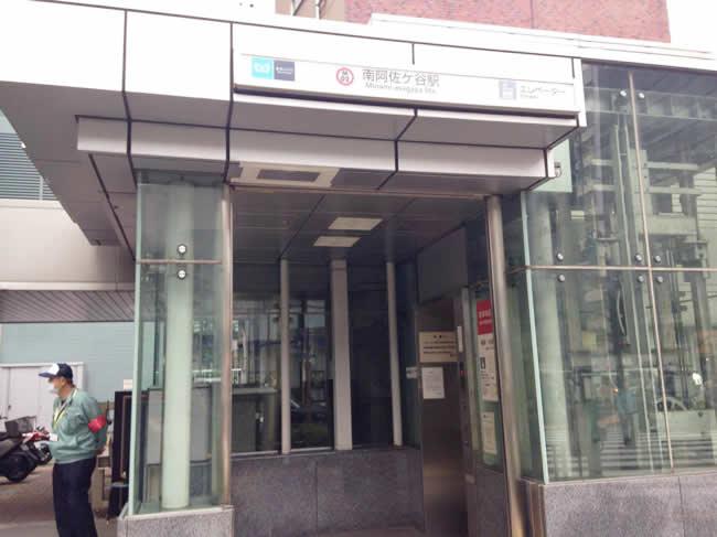 阿佐ヶ谷駅のエレベーター