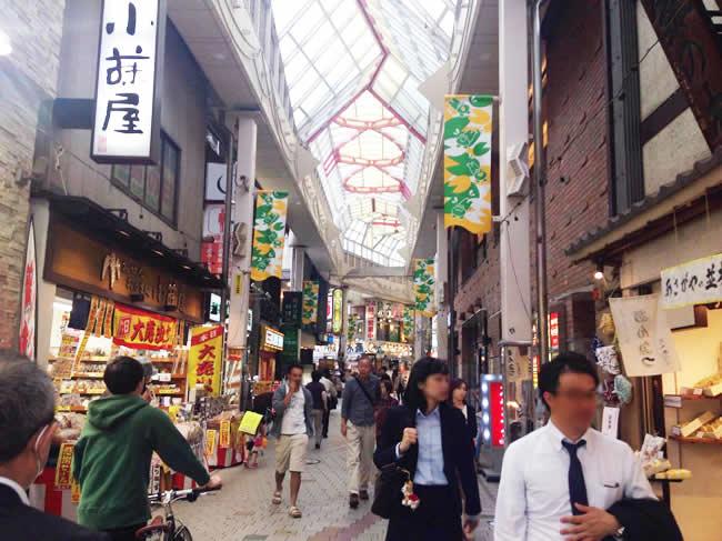 阿佐ヶ谷の商店街