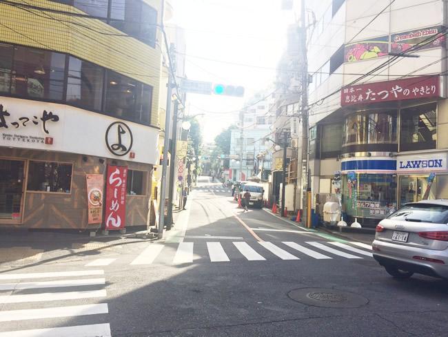 恵比寿の街並み