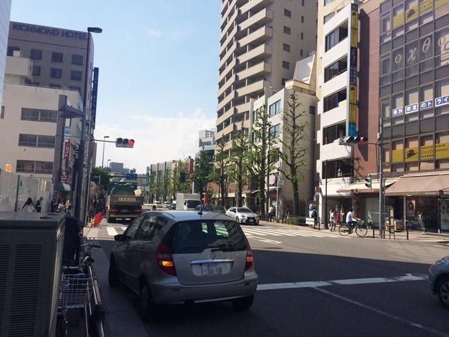 目白の街並み