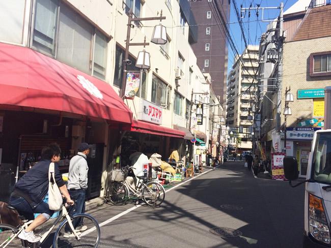 大塚の駅周辺