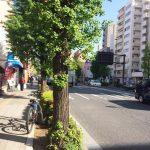 志村坂上の街並み