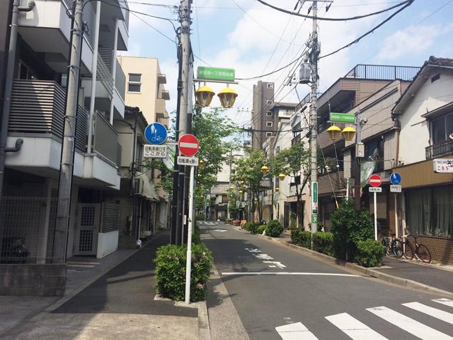田端の街並み