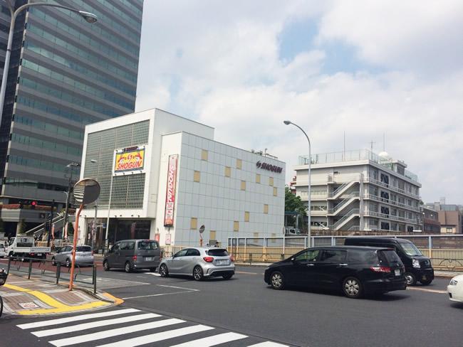 田端の駅前周辺
