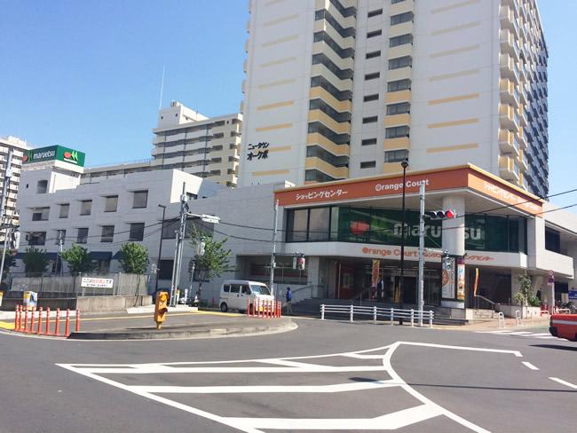 高田馬場の街並み