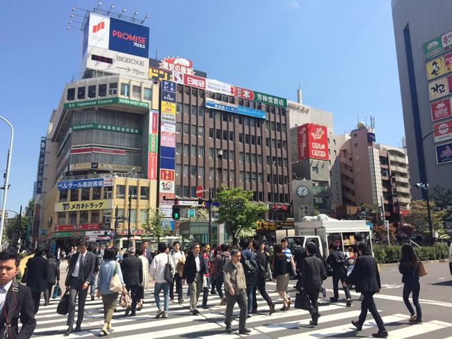高田馬場駅前の周辺