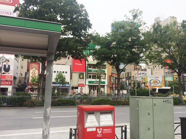五反田駅前の風景