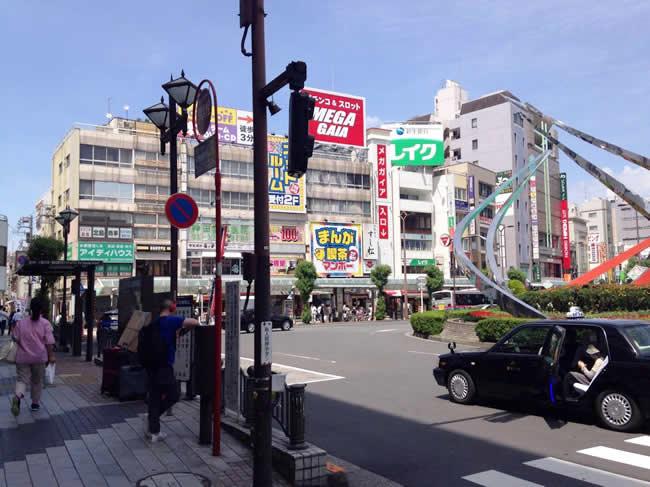 蒲田駅前周辺