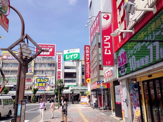 蒲田の街並み