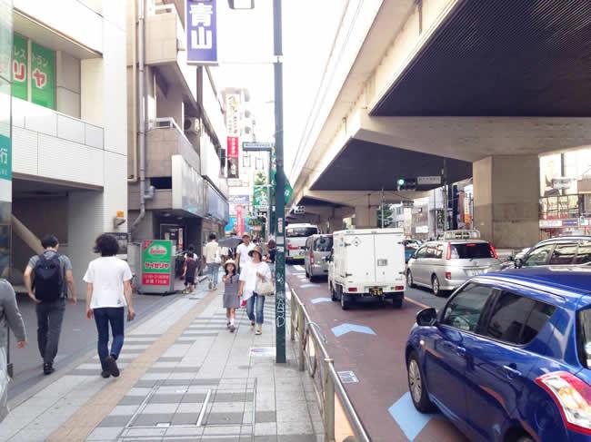 大通り沿い