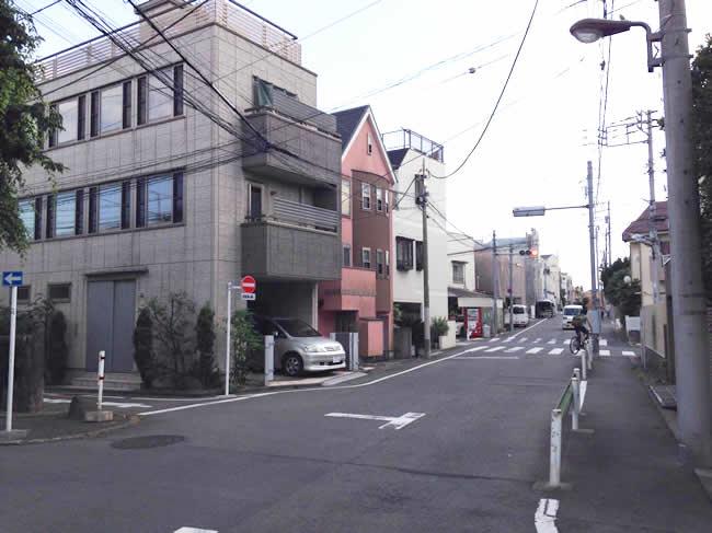 駒沢の街並み