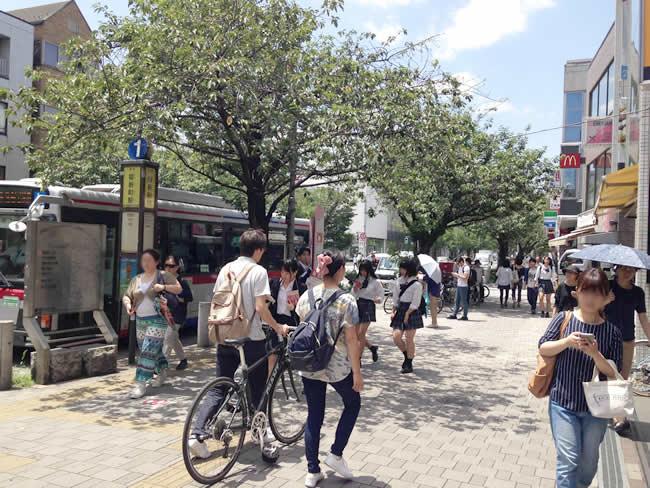 桜新町のバス停