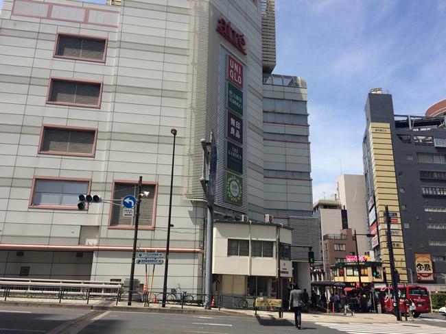 目黒駅前の横断歩道