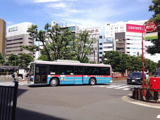 大森駅前のバス