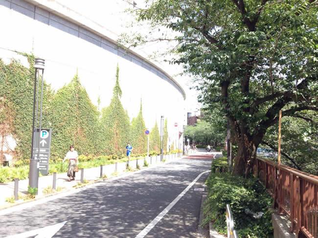 目黒天空庭園の入り口