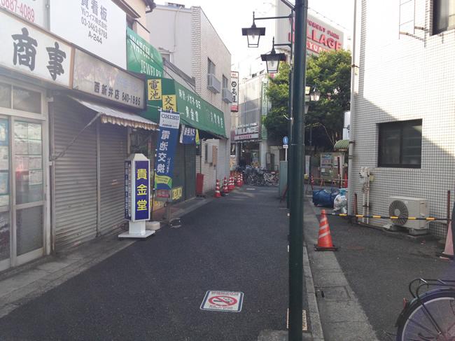 西新井の横道