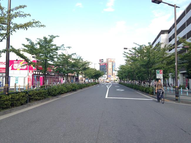 西新井の道