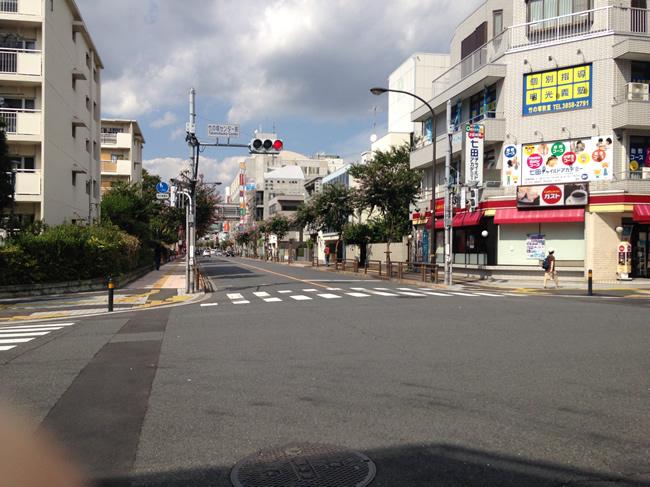 竹ノ塚の交差点