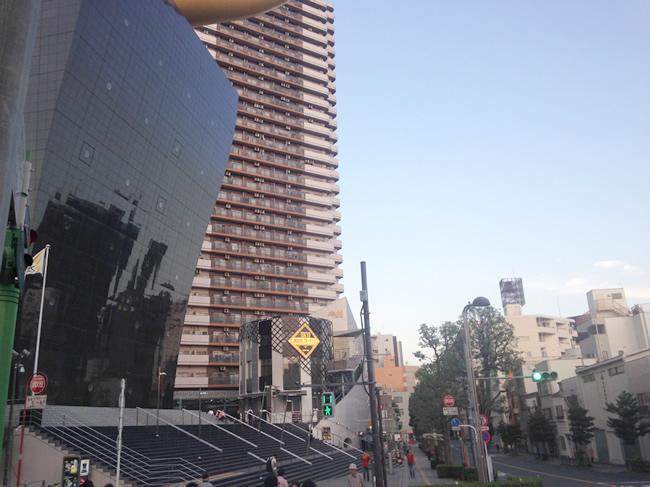 浅草にあるタワーマンション
