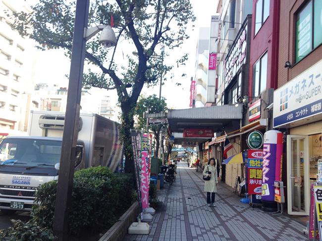 門前仲町の商店街