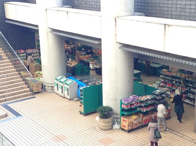 マンション下にあるスーパー