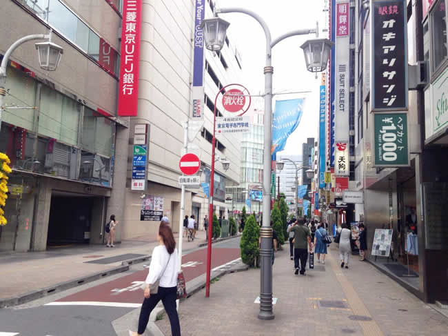 池袋の東京三菱UFJ