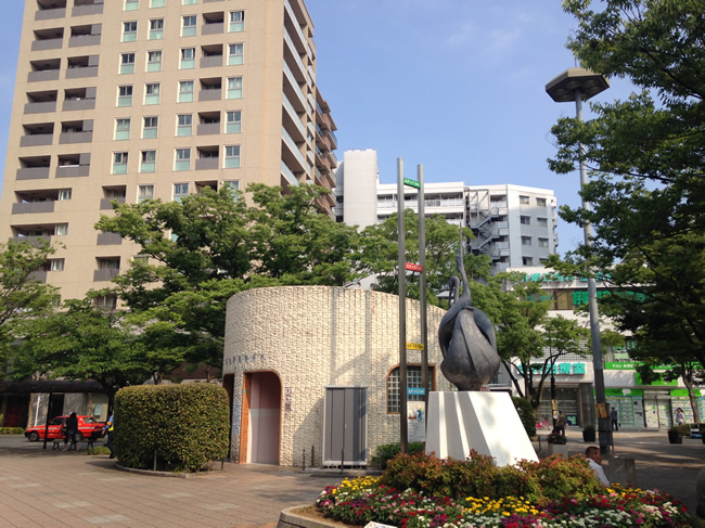 船堀駅前のトイレ