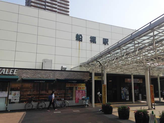 船堀駅の外観