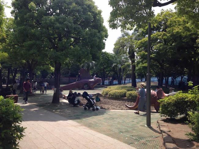 西葛西の公園