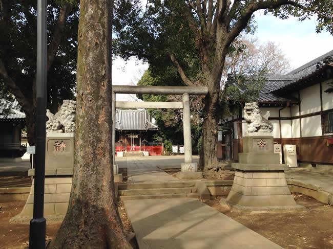 天祖神社にもきてみました