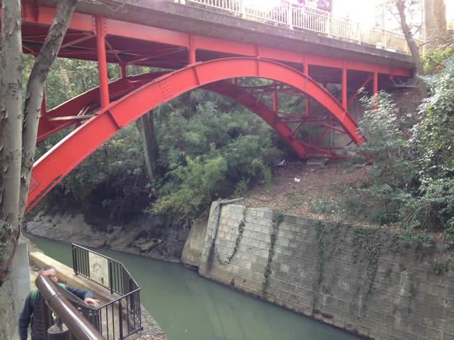 橋があったよ