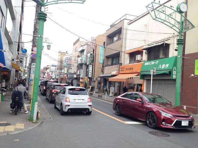 小さな商店街