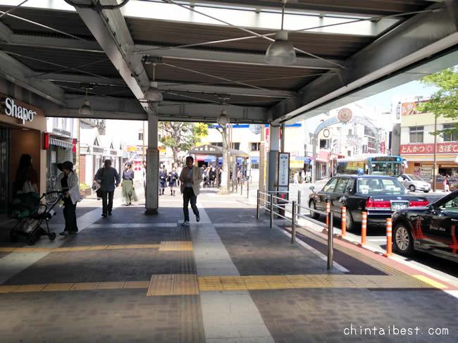小岩駅の南口