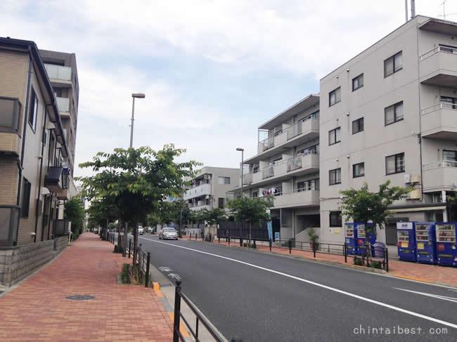 石神井公園の住宅街エリア