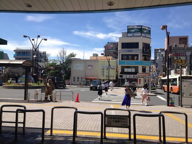 亀有駅の北口