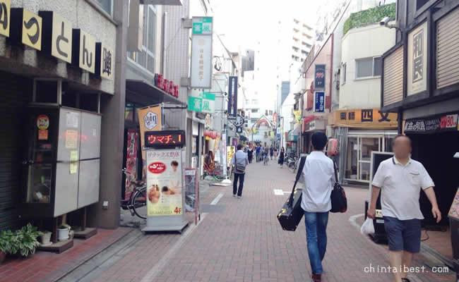 練馬駅の商店街