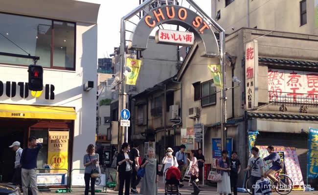 練馬駅にある美味しい商店街