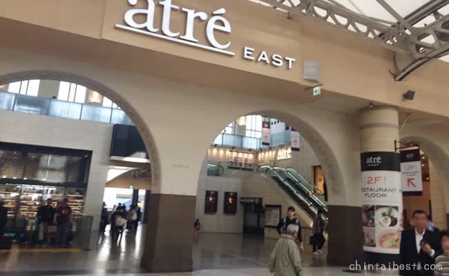 上野の駅は広い!