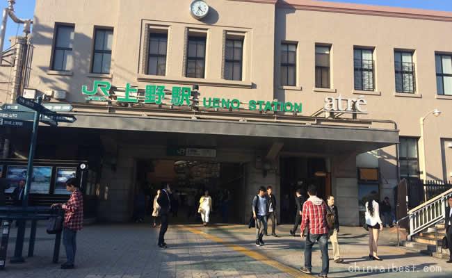 上野駅に戻ってきました